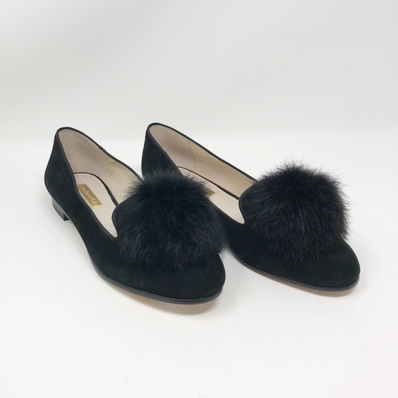 b5d220e246f New Louise Et Cie Andres Pom Loafers Size 6